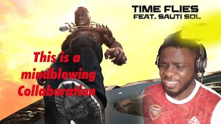 Burnaboy -  Time Flies ft. Sauti Sol reaction / This song is so melodic..WOW!!