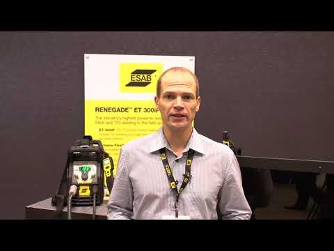 ESAB's Renegade TIG/Stick Series Overview