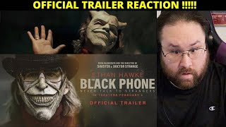 The Black Phone - Official Trailer - REACTION!!!!!