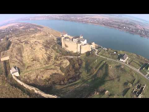 Хотинская крепость с высоты птичьего пол