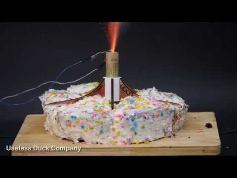 Rocket Powered Birthday Cake [short version]