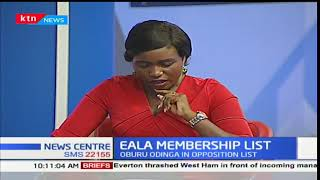 The prominent names featuring on the EALA nomination list