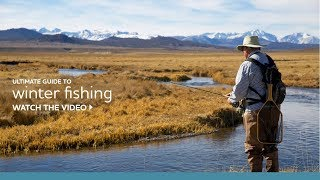 Your Ultimate Guide to Winter Fishing in the Eastern Sierra