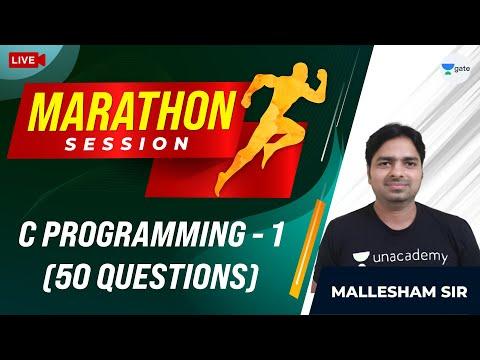 50 Questions on C Programming   GATE 2021 CSE Exam