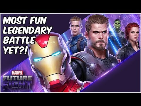 Avengers VS Thanos! Super Fun Endgame Legendary Battle! - Marvel Future Fight