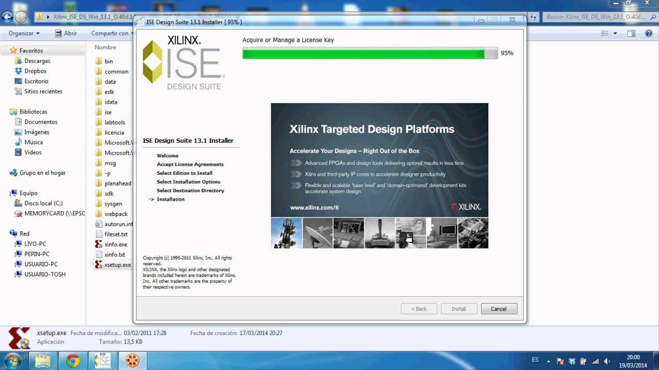 Descargar Xilinx 13.1 en MEGA FULL (Explicacion como se instala) 100% Full Crackeado