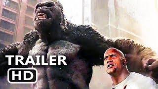 RАMPАGE Official Trailer # 3 (2018) Dwayne Johnson Monster Action Movie HD