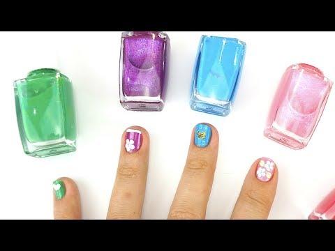 Игровой набор для детей украшаем свои ногти