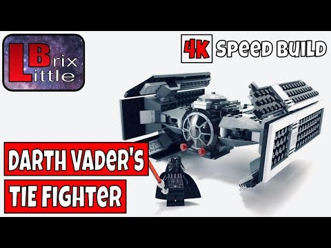 Vidéo LEGO Star Wars 8017 : Dark Vador TIE Fighter