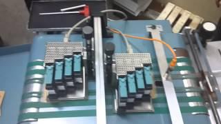 Vakum Beslemeli ve Emişli Karton Etiket Baskı Makinesi