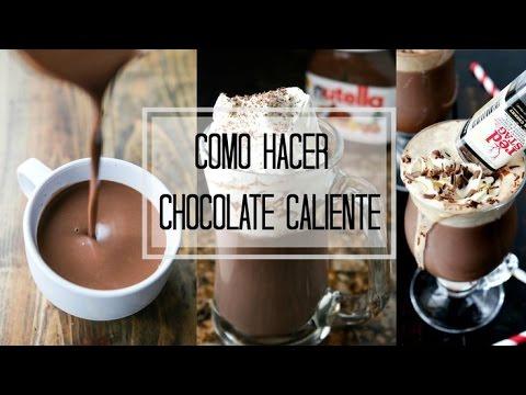 COMO HACER CHOCOLATE CALIENTE RAPIDO Y FACIL // MARIA CONCEPCION