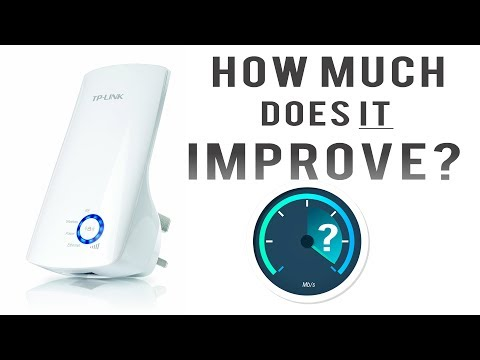 TP-LINK N300 Universal Wi-Fi Range Extender REVIEW &TEST & HOW TO SET UP ?