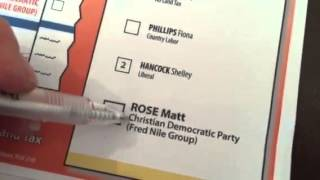 How to vote for the Christian Democratic Party