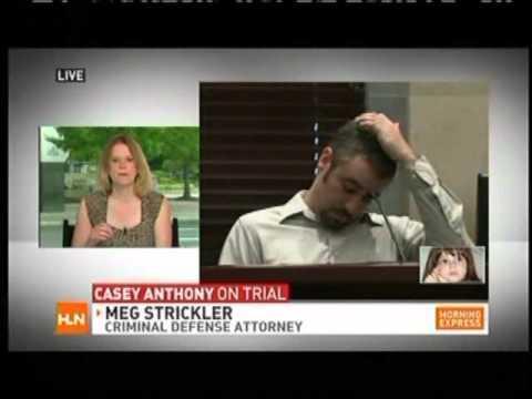 Meg Strickler on HLN discussing Casey Anthony June 1, 2011