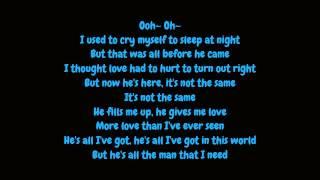 Whitney Houston - All The Man I Need (Lyrics HD)