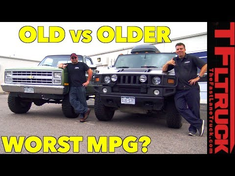 Hummer vs Big Green: Which Truck Gets the Worst MPG?
