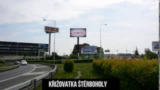 Obrazovka BONUSS-CZ - Křižovatka Štěrboholy