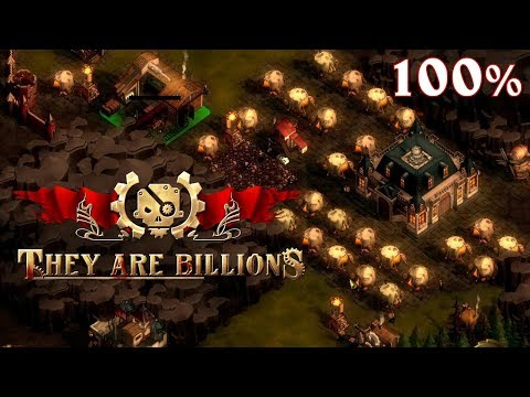 They Are Billions EA (100%) ➤ #02 ➤ Slušné vlny Zombií