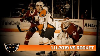 Rocket vs. Phantoms | Jan. 11, 2020