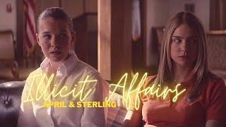 April & Sterling | Illicit Affairs