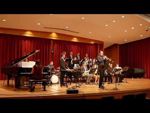 One of my original compositions performed by the University of Colorado, Boulder Concert Jazz Ensemble