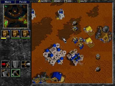 warcraft 2 tides of darkness pc