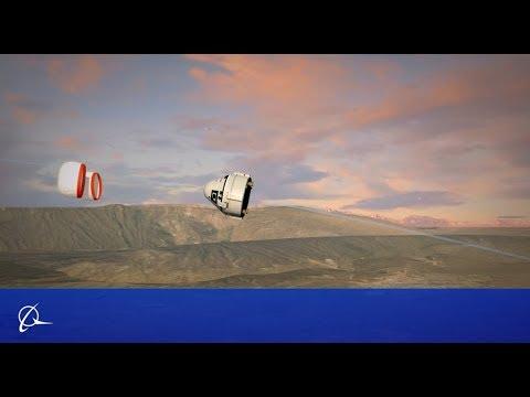 CST-100 Starliner Pad Abort Test Animation