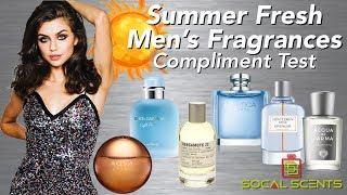 Summer Fresh Mens Fragrances W/ Actress Victoria Konefal | Compliment Test