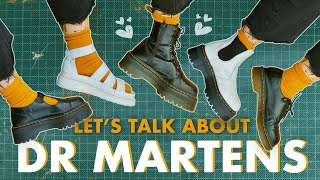 DR MARTENS: Everything You NEED TO KNOW | Break In Dr Martens, Sizing, Cleaning & More!