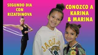 Conozco A Karina & Marina. Segundo Día Con Rizatdinova. Salgo En La Tele.