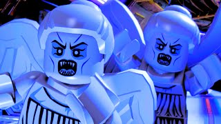 LEGO Dimensions Escape The Possessed Weeping Angel Statues