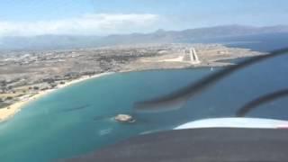Flying into Crete, Greece | Robert DeLaurentis, Zen Pilot