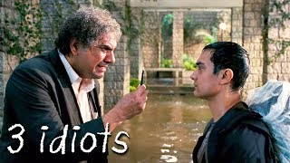 ऐसा मिला आमिर खान को वाइरस का पेन | 3 Idiots | Aamir Khan, R. Madhavan, Sharman Joshi