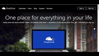 Microsoft OneDrive SkyDrive Windows Tutorial