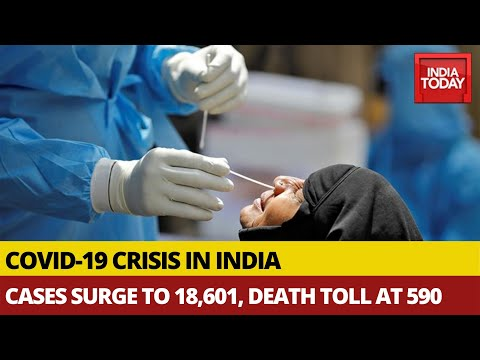 breaking news coronavirus latest update 18601 covid 19 cases in india death toll rises to 590