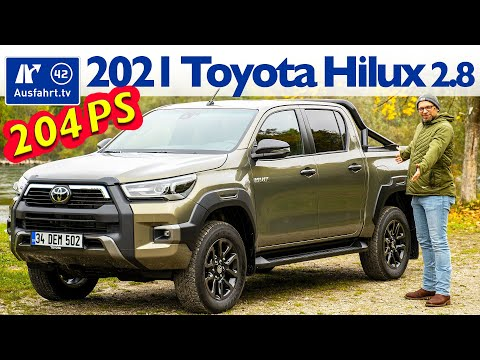 2021 Toyota Hilux Invincible DoubleCab 2.8 4x4 6AT - Kaufberatung, Test deutsch, Review, Fahrbericht