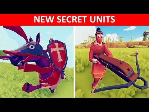 TABS UPDATE - New Secret Units Locations and Showcase - Totally Accurate Battle Simulator
