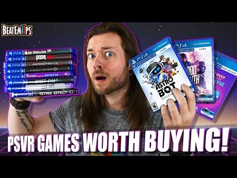10 BEST PlayStation VR (PSVR) Games Worth Buying! AGAIN!