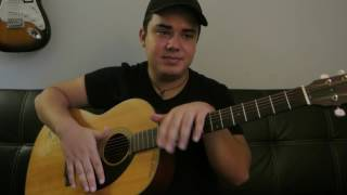 """Kenny Chesney Ft. Pink - """"Setting The World On Fire"""" How to Play Guitar (Easy!! Guitar Tutorial!!)"""