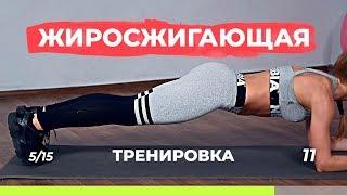 Жиросжигающая тренировка для похудения дома, без дополнительного оборудования