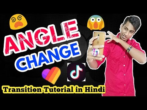 HOW TO MAKE ANGLE CHANGE TRANSITION  | HOW TO DO THE ANGLE CHANGING TRANSITION ON TIK TOK MUSICALLY
