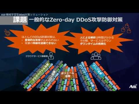 機械学習でDDoS防御をフルオートメーション化