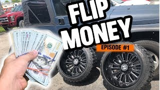 Making Easy $2000 in 4 Days , How to Fix Curb Rash | Flip Money #1
