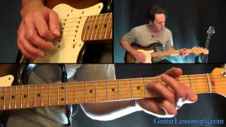 Up Around The Bend Guitar Lesson - Creedence Clearwater Revival