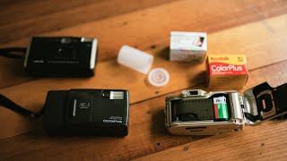 Point and shoot cameras: film loading and basic tips