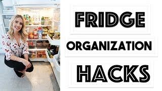 ORGANIZE: 10 EASY HACKS to Organize Your Fridge! | Making the Most of Our Small Kitchen