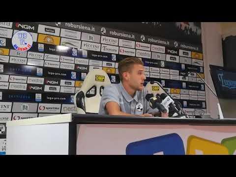 Siena-Giana Erminio 0-0 - Alb�, Cruciani, Terigi, Mignani