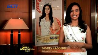 Damita Romauli Argoebie for Miss Indonesia 2015