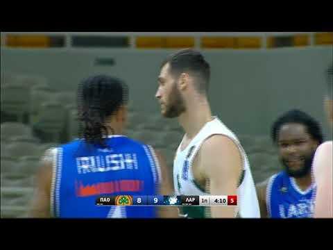 Basket League 2020-2021: Παναθηναϊκός – Λάρισα | 25/10/20 | ΕΡΤ