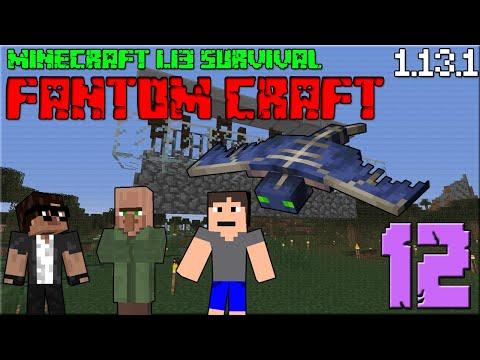 VILLAGE BREEDER ! Minecraft survival 1.13! #12 |FANTOM CRAFT| /wCukeMan